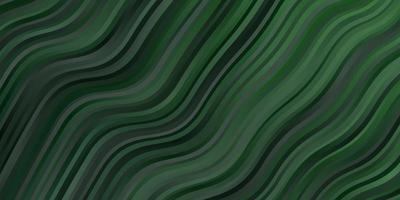 tessitura verde chiaro con curve.