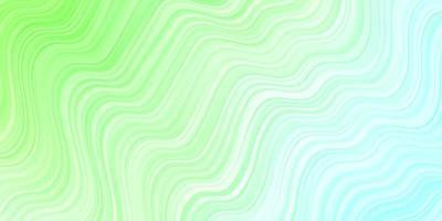 tessitura verde chiaro con curve