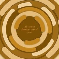 bordo del cerchio giallo sfondo astratto