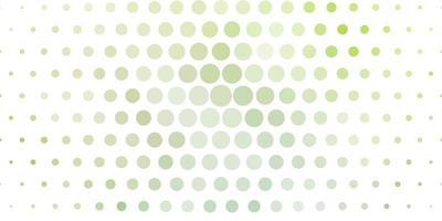 tessitura verde chiaro con dischi.