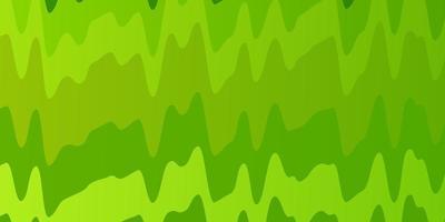 sfondo verde con linee piegate.