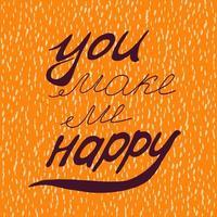 mi rendi felice.