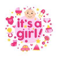 Carino Baby Shower Card