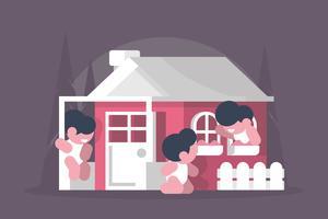 Illustrazione di Playhouse vettore