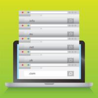 vettore web dominio