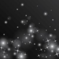 illustrazione di polvere di stelle vettore