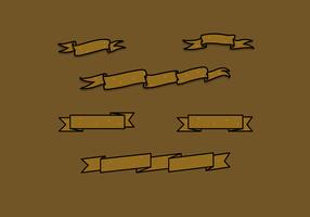 Vettore gratis del banner pirata
