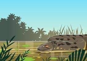 anaconda vettore
