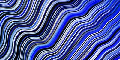 modello azzurro con linee ironiche.