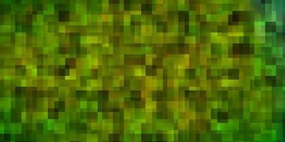 sfondo verde in stile poligonale. vettore