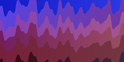 sfondo azzurro, rosso con linee ironiche.