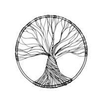 albero della vita vettore