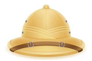 Cappello con elmo in midollo per caccia e spedizioni turistiche