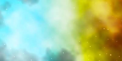 struttura azzurra, gialla con bellissime stelle.