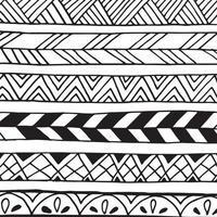 modello astratto di doodle. vettore