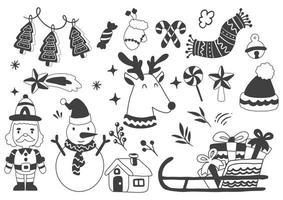 loghi di etichette natalizie per banner
