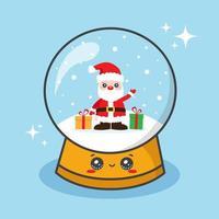 palla di globo di neve di Natale