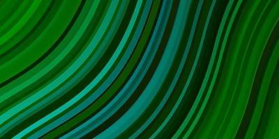sfondo verde con linee. vettore