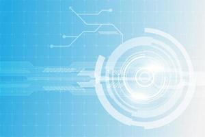 fondo futuristico di concetto di tecnologia digitale