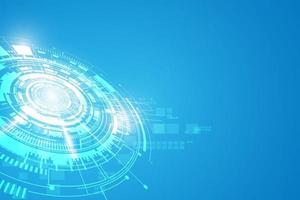 fondo futuristico di concetto di tecnologia di fantascienza