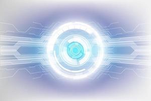 fondo astratto di concetto di tecnologia, illustrazione di vettore