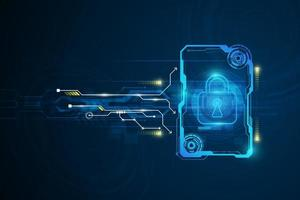 sfondo del circuito tecnologia astratta