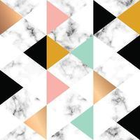 design in marmo con forme geometriche