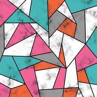 design in marmo con linee geometriche vettore