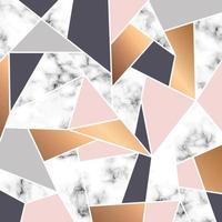 design in marmo con linee geometriche bianche vettore