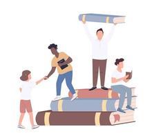comunità universitaria inclusiva vettore