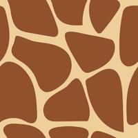 modello senza saldatura giraffa vettore