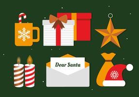 Elementi vettoriali di Natale