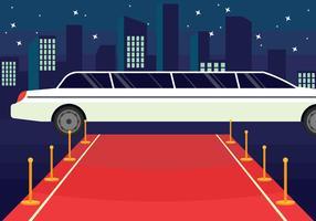 Illustrazione di Hollywood Red Carpet