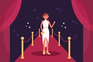 Vettori di Hollywood Red Carpet
