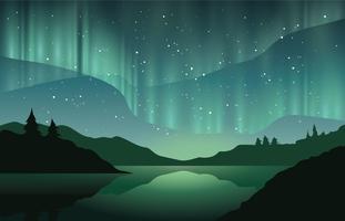 Bella aurora boreale