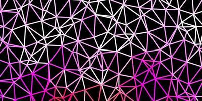 layout poligono gradiente vettoriale viola chiaro, rosa.