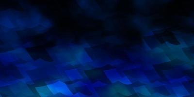 layout vettoriale azzurro con forme esagonali.