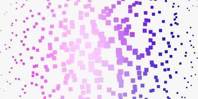 layout vettoriale rosa chiaro, blu con linee, rettangoli.