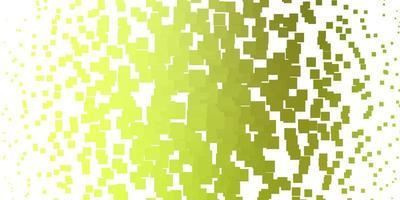 layout vettoriale verde chiaro, giallo con linee, rettangoli.