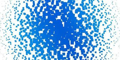 sfondo vettoriale azzurro con rettangoli.