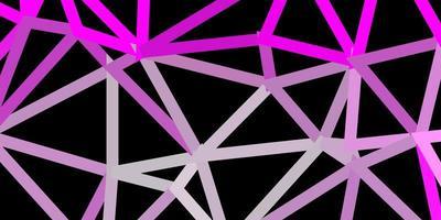 sfondo triangolo astratto vettoriale rosa chiaro.