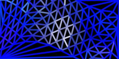 layout poligono sfumato vettoriale blu chiaro.