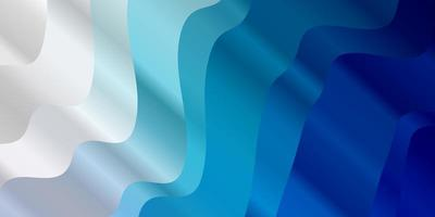 texture vettoriale blu chiaro con linee ironiche.