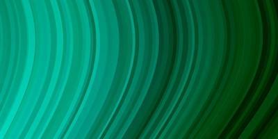 modello vettoriale verde chiaro con curve.
