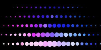 modello vettoriale rosa scuro, blu con sfere.