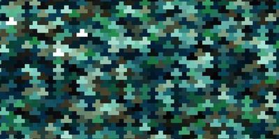 modello vettoriale azzurro, verde in rettangoli.