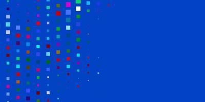 sfondo vettoriale multicolore scuro in stile poligonale.