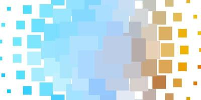 sfondo vettoriale azzurro, giallo in stile poligonale.