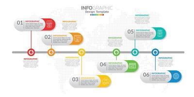 elementi infografici per contenuto, diagramma, diagramma di flusso, passaggi, parti, sequenza temporale, flusso di lavoro, grafico.