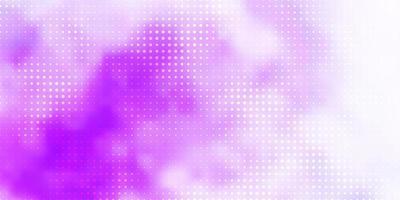 modello vettoriale viola chiaro con sfere.
